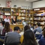 Presentación El pasado de Brian, librería Soriano, Valencia