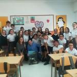 Charla con los alumnos de 1° ESO del cole Santísima Trinidad Nuestra Señora del Rosario