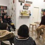 Presentación de El pasado de Brian en Libros de Arena, Madrid